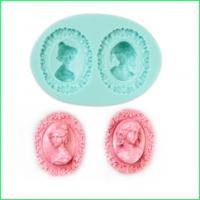 3D Cameo Silicone Mould