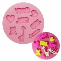 Assorted Baby Mould Silicone
