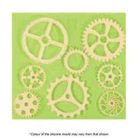 Assorted Cogs & Gears Silicone Mould