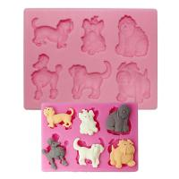 Assorted Dogs Silicone Mould