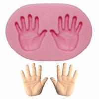baby hands silicone mould