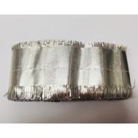 Cake Frill Plain Silver