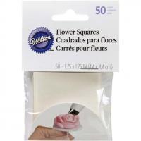 Icing Flower making Squares - Precut