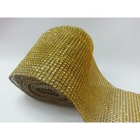 Diamante Cake Wrap 1m - Gold