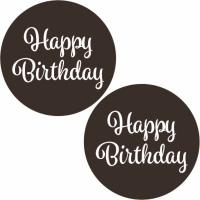 happy_birthday_round_dark_chocolate_plaque_