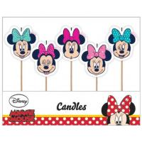 minnie mouse candles 5pk