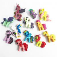 my little pony plastic figurines