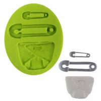 Nappy & Nappy Pin Silicone Mould