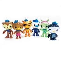Octonauts Plastic Figurines Set of 6