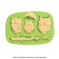 Owls Silicone Mould
