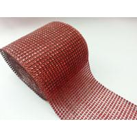 Diamante Cake Wrap 1m - Red