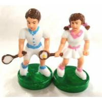 Tennis Players Pair 60mm