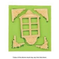 Vintage Window Silicone Mould