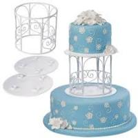 wilton garden gazebo cake topper set