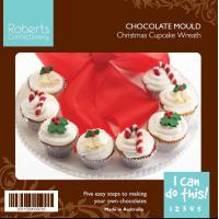 Christmas Cupcake Candy Chocolate Mould