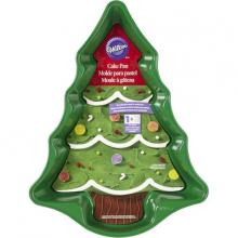 XMAS Tree Cake Pan Tin