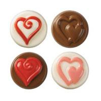 Hearts Cookie Candy Mold