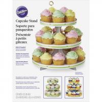 3 Tier Cupcake Treat Stand- White