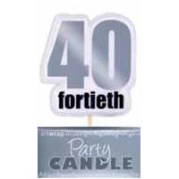 40th silver candle