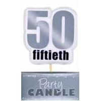 50th silver candle