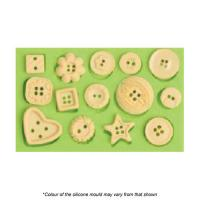 Assorted Buttons Silicone Mould