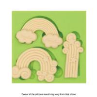 Assorted Rainbow Silicone Mould