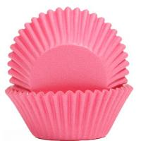 45 Baby Pink Cupcake Cases