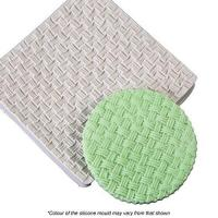 Basket Weave Silicone Mould