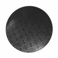 black masonite cake board