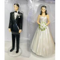 bride groom classic wedding attire