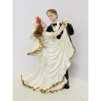bride groom ornament cake topper