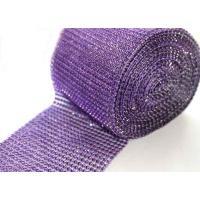 Diamante Cake wrap 1m - Purple