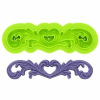 centrepiece lace silicone mould