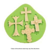cross assorted silicone mould
