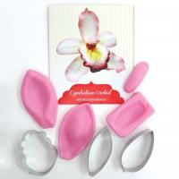 Cymbidium Orchid Cutter and Silicone Veiner Set