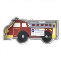 Fire Truck Cake Pan Tin