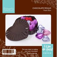 Heart Box with Lid Chocolate Mould