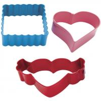 hearts a flutter cookie cutter set