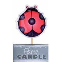 Ladybird Candle