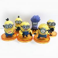 Minions Plastic Figurines Set of 6