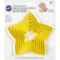 nesting star cutter set of 6