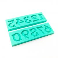 Ornate Numbers Silicone Mould