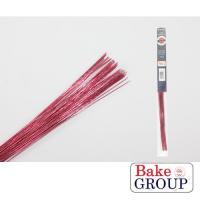 Pink Metallic Florist Wire