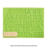 PIXEL Font Letter and Number Set Silicone Mould