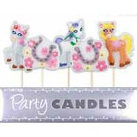 Pretty Ponies Candles 5pk