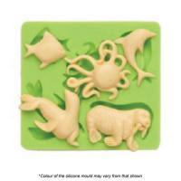 sea animals silicone mould