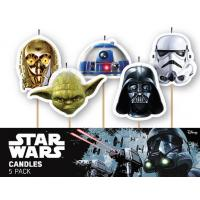 star wars candles 5pk
