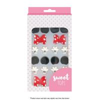 Mickey & Minnie Edible Icing Toppers Set from Sweet Tops
