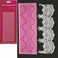 GoBake Vintage Lace Mat
