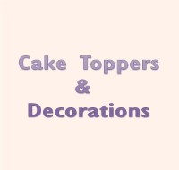 cake toppers & decorations